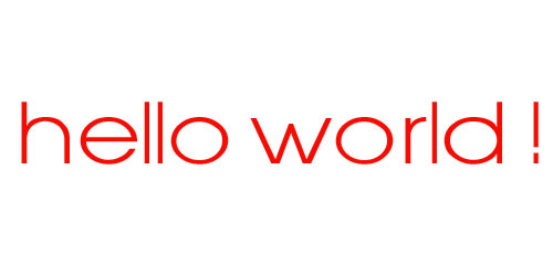Image Result For Hello World